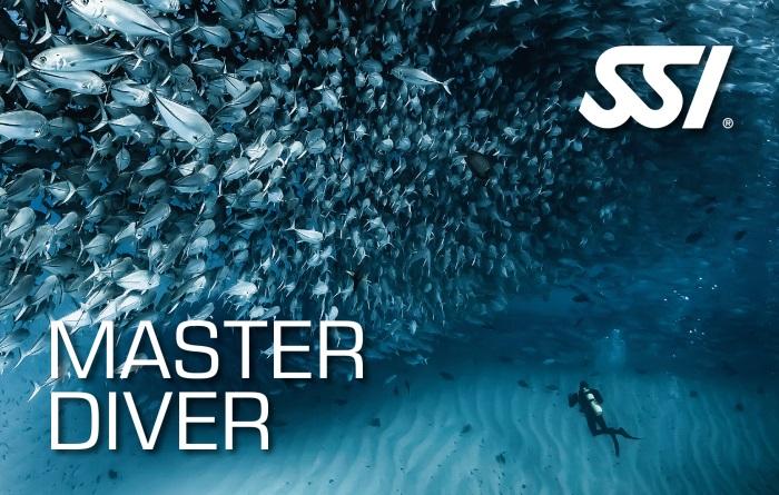 Master Diver höchste SSI Anerkennungsstufe im Sporttauchen