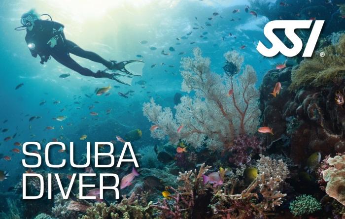 Scuba Diver Tauchschein