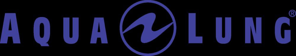 Aqualung Logo blau